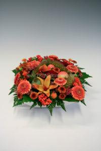 dekoration orange höst