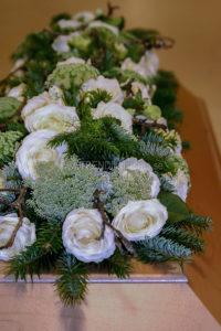 låg modell vit vårvinter