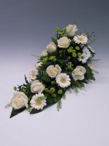 vit låg dekoration