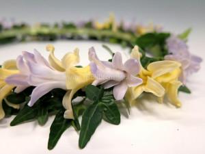 Hårkrans hyacinter närbild