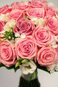 Rosa brudbukett Heaven