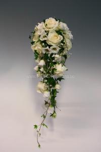 vit bukett