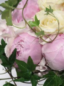 brudbukett rosa