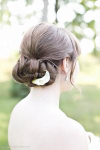 hårblomma vit kalla