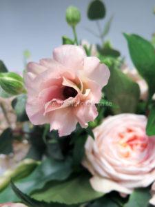 rosa blomor